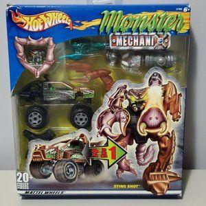 Mattel Hot Wheels Sting Shot Monster Mechanic